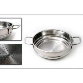 Bộ 5 nồi Inox 3 đáy Fivestar nắp kính chính hãng Tân Hợp Thành dùng bếp từ, bảo hành 5 năm