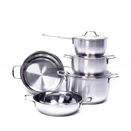 Bộ 5 nồi Inox 3 đáy Fivestar dùng bếp từ