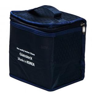 Túi giữ nhiệt Glasslock loại 3 hôp có quai xách