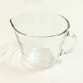Cốc thủy tinh có vạch chia Glasslock Hàn Quốc GL1475 500ml tặng kèm nắp