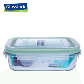 [SALE] Bộ 3 hộp cơm thủy tinh Glasslock 715ml, 400ml, chia ngăn 670ml và túi giữ nhiệt
