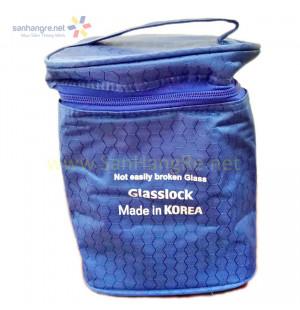 Túi giữ nhiệt Glasslock loại 4 hộp có quai xách
