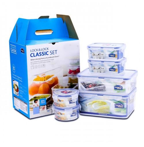 Bộ 6 hộp nhựa bảo quản thực phẩm Lock&Lock - HPL825S6Y