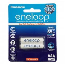 Bộ 2 pin sạc AAA Panasonic Eneloop 800mAh BK-4MCCE/2BT (Hàng chính hãng)