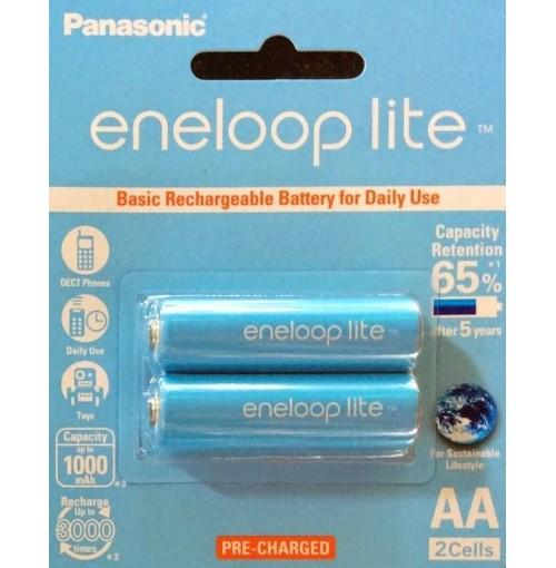 Pin sạc AA Panasonic Eneloop Lite BK-3LCCE
