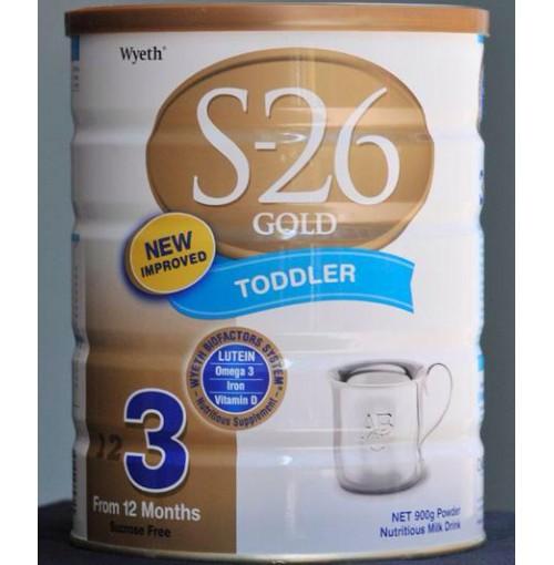 Sữa S26 gold số 3 hàng xách tay từ Úc