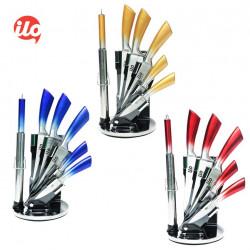 Bộ 8 món dao kéo Inox không gỉ thương hiệu ILO Hàn Quốc