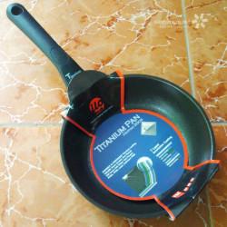 Chảo chống dính 26cm ilo Kitchen Titanium Hàn Quốc cao cấp đáy từ