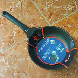 Chảo chống dính ilo Kitchen Titanium Hàn Quốc cao cấp 28cm đáy từ