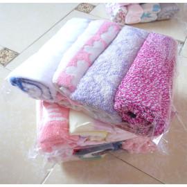 Bộ 4 khăn mặt Songwol 75x34cm MS02 (nhiều màu)