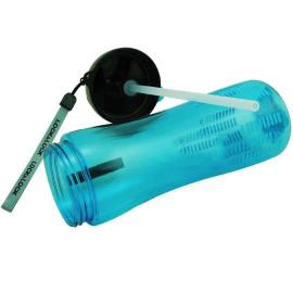 Bình nước thể thao Lock&Lock Bisfree có ống hút ABF629B 650ml (Xanh)