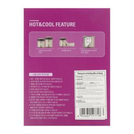 Bình giữ nhiệt nấu cháo Lock&lock HOT&COOL LHC8003V 450ml màu tím