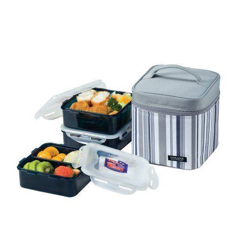 Bộ hộp cơm và túi giữ nhiệt Lock&lock HPL823DB Panasonic