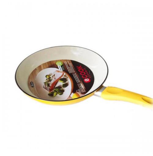 Chảo chống dính đáy từ Lock&Lock Ceramic 24cm (Vàng)