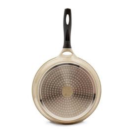 Chảo vân đá chống dính Lock&Lock 30cm ST30F2C dùng bếp từ