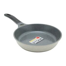 Chảo vân đá chống dính Lock&Lock Stone 28cm LCA6283D dùng bếp từ, hàng chính hãng