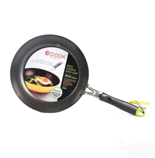 Chảo chống dính cao cấp E-Cook Deco Lock&Lock LED2263G 26cm - Xanh lá