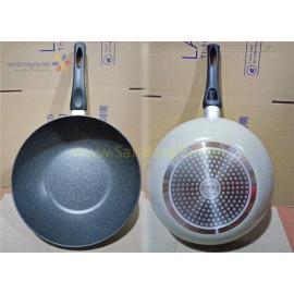 Chảo nhôm sâu lòng siêu chống dính Cookplus Hard&Light Marble LHB9305-IH 30cm
