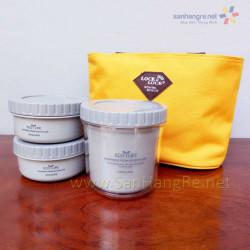 Bộ 3 hộp đựng cơm và túi giữ nhiệt Eco Life Lock&lock HPL746