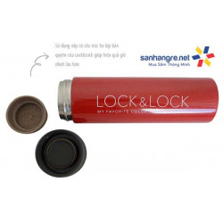 Bình giữ nhiệt Lock&Lock Midea LHC4016 Colorful Tumbler 340ml - Đỏ