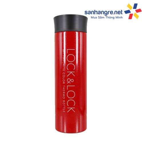 Bình giữ nhiệt Lock&Lock LHC4017 Colorful Tumbler 400ml - Đỏ