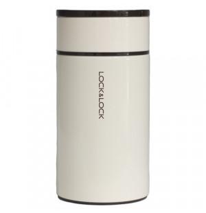 Bình giữ nhiệt Inox 304 đựng thức ăn Food Jar Lock&Lock LHC8023 1L màu trắng