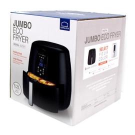 Nồi chiên không dầu điện tử Lock&Lock Jumbo EJF351BLK 1800W 5,2L màu đen, hàng chính hãng bảo hành 12 tháng