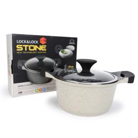 Nồi đá cao cấp Lock&lock Stone LCA6202D-IH 20cm dùng bếp từ