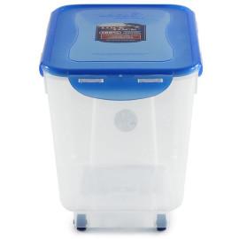 Thùng đựng gạo Lock&lock 5kg HPL500 có bánh xe (Kèm cốc đong gạo)