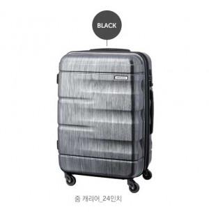 Vali kéo du lịch có khóa số Lock&Lock Zoom Carrier LTZ924BTSA 24 inch - Màu đen