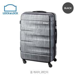 Vali kéo du lịch có khóa số Lock&Lock Zoom Carrier LTZ928BTSA 28 inch - Màu đen