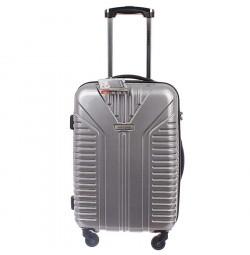 Vali kéo có khóa số du lịch Lock&Lock Travel Zone 20 inch - Màu bạc