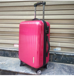 Vali kéo có khóa số du lịch Lock&Lock Samsung Travel Zone LTZ994R 20 inch - Màu đỏ
