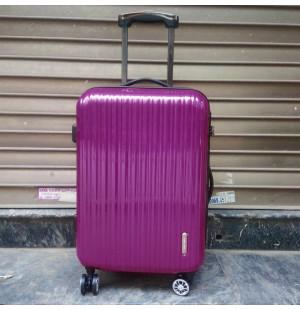 Vali kéo có khóa số du lịch Lock&Lock Samsung Travel Zone LTZ994DP 20 inch - Màu hồng tím