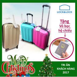 Vali kéo có khóa số du lịch xách tay Lock&Lock Samsung Travel Zone 20 inch