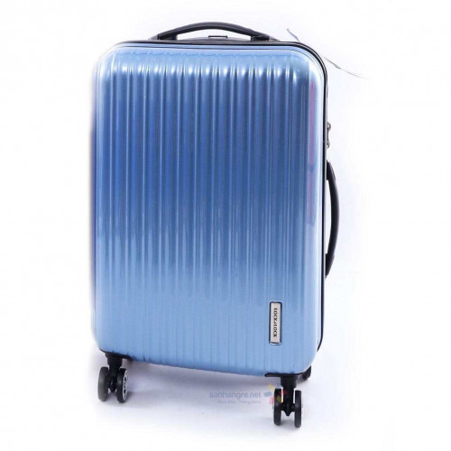 Vali kéo có khóa số du lịch Lock&Lock Samsung Travel Zone LTZ994LBTSA 20inch - Màu xanh