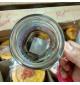 Ly nước thuỷ tinh nắp vặn Lock&Lock VFRESH dung tích 500ml có tay cầm - Vàng