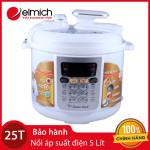 Nối Áp Suất Điện Elmich Smart Cook 5L PCS-0239 hàng chính hãng, bảo hành 25 tháng