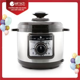 Nồi áp suất điện 5 Lít Elmich Smart Cook Pressure Cooker PCS-1800 900W chính hãng, bảo hành 12 tháng