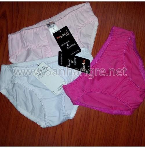 Sét 3 quần lót bé gái Hug Adore