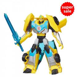 Robot Transformers biến hình xe thể thao Warrior Bumblebee - Robots in Disguise