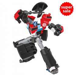 Robot Transformers biến hình xe tải Warriors Optimus Prime - Robots in Disguise