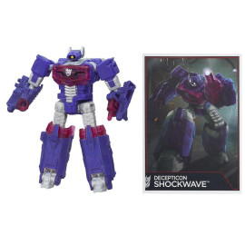 Robot Transformers biến hình trạm vũ trụ Decepticon Shockwave - Combiner Wars