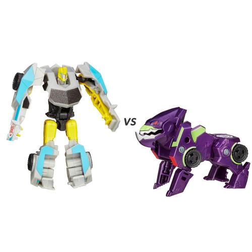 Bộ đôi Robot Transformers biến hình Bumblebee vs Underbite - Robots in Disguise