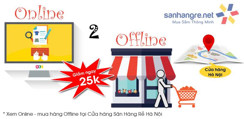 Ưu đãi mới : Xem hàng trên website SanHangRe.net đến mua hàng tại Cửa hàng Hà Nội