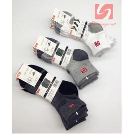 Bộ 5 đôi tất nam cổ trung Uniqlo hàng xuất Nhật