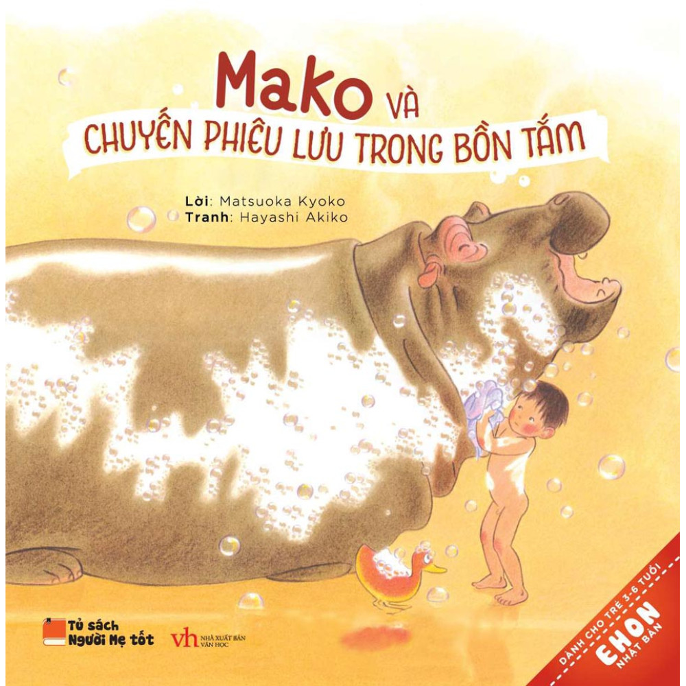 Mako Và Chuyến Phiêu Lưu Trong Bồn Tắm - Ehon