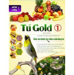 Combo 5 cám chim vành khuyên Tú Gold số 1 - Gói 100gram