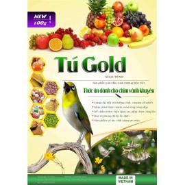 Combo 5 cám chim vành khuyên Tú Gold số 3 - Gói 100gram