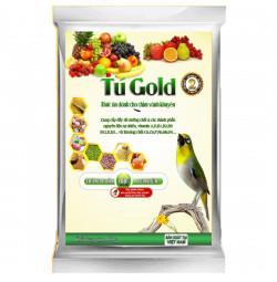 Combo 5 cám chim vành khuyên Tú Gold số 2 - Gói 100gram
